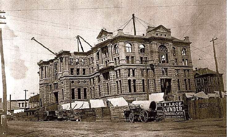 courthouse construction 1894