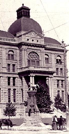 courthouse horse fountain