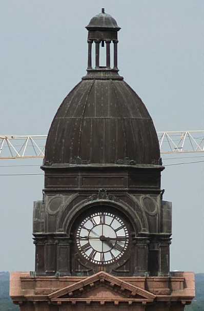 courthouse tower before restoration