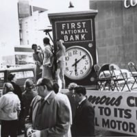 first natl bank 1961 clock 99