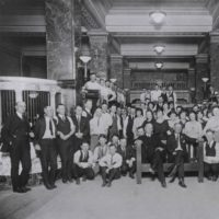 first natl bank employees 1920s 99