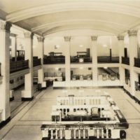 first natl bank lobby 1931 99