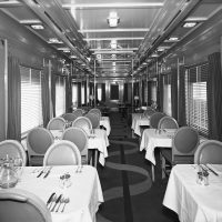 t&p dining car 1942